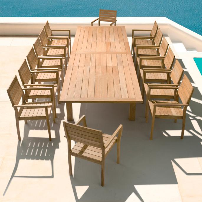 Giardino Collection Outdoor Dining: Barlow Tyrie Dining
