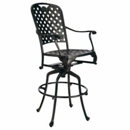 "Provence 30"" Swivel Bar Stool with Cushion by"