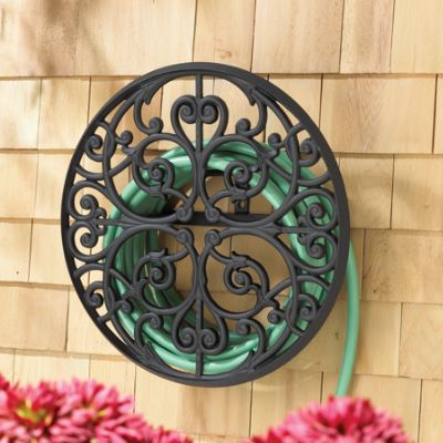 Scroll Aluminum Hose Holder Frontgate