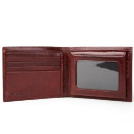 Bosca Monogrammed Men's Leather Wallet