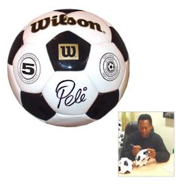 Pele Hand-signed Soccer Ball