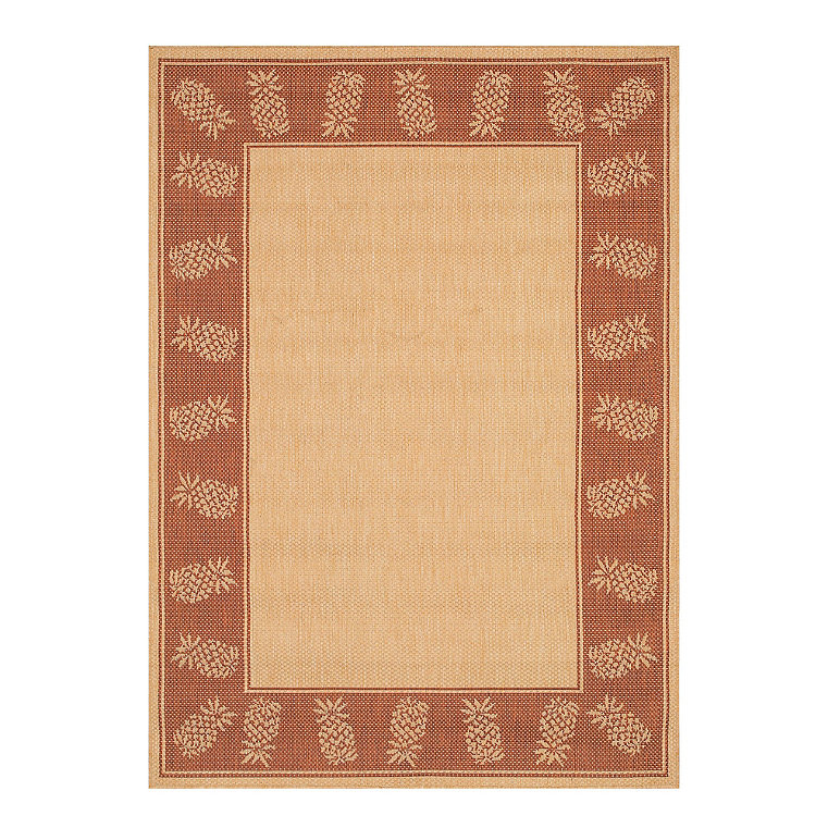 All weather outdoor rug frontgate for All weather patio rugs