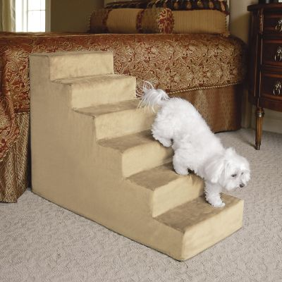 Animals Matter 174 Small Upholstered Pet Steps Frontgate