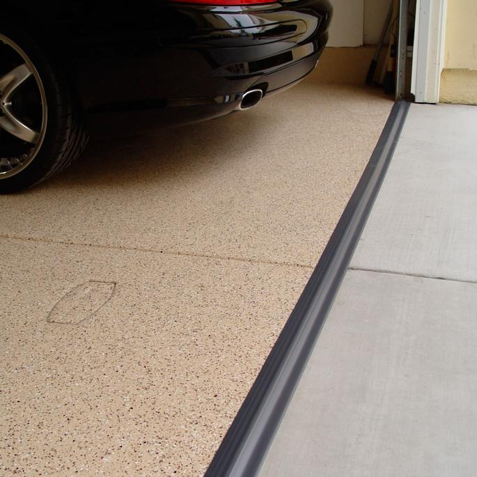 Garage Floor Water Barrier Flooring Home Decorating: Garage Door Threshold Seal
