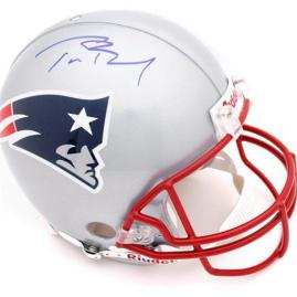 Autographed Tom Brady Helmet