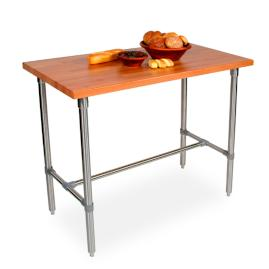 John Boos Cherry Kitchen Work Table