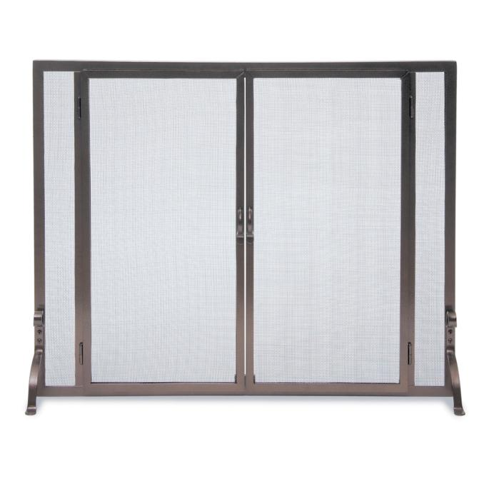 full height fireplace screen large frontgate