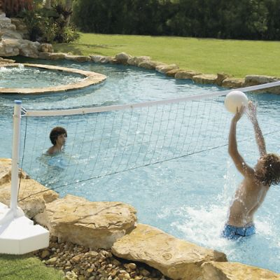 Water Volleyball Pool Game Frontgate
