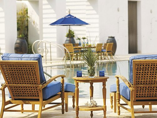 Frontgate Summer Classics Yacht Outdoor Furniture