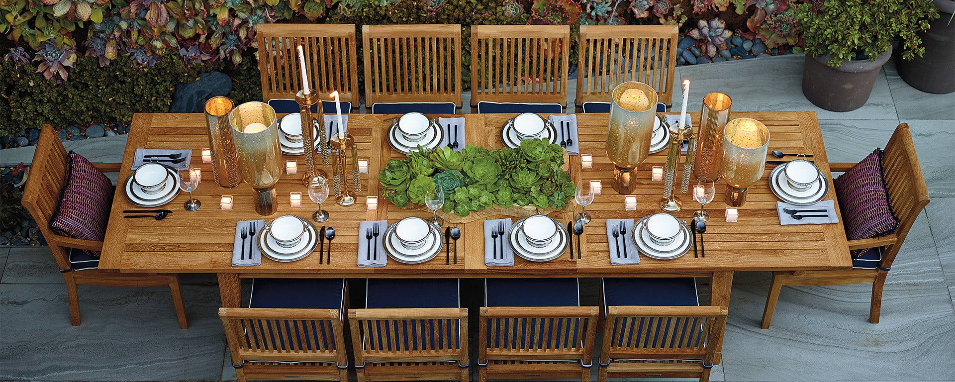 The Dos & Don'ts to an Outdoor Dinner Party