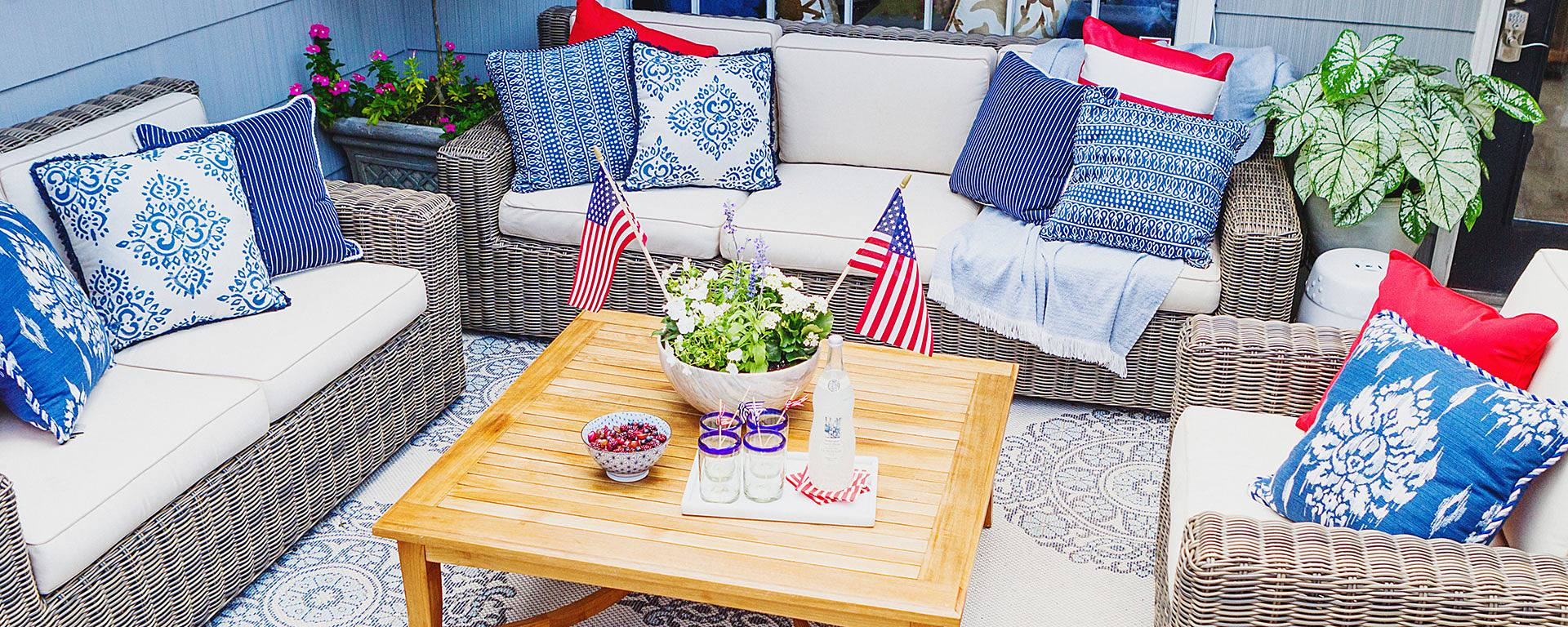 5-Minute Makeover: The Fourth of July Edition with House of Harper