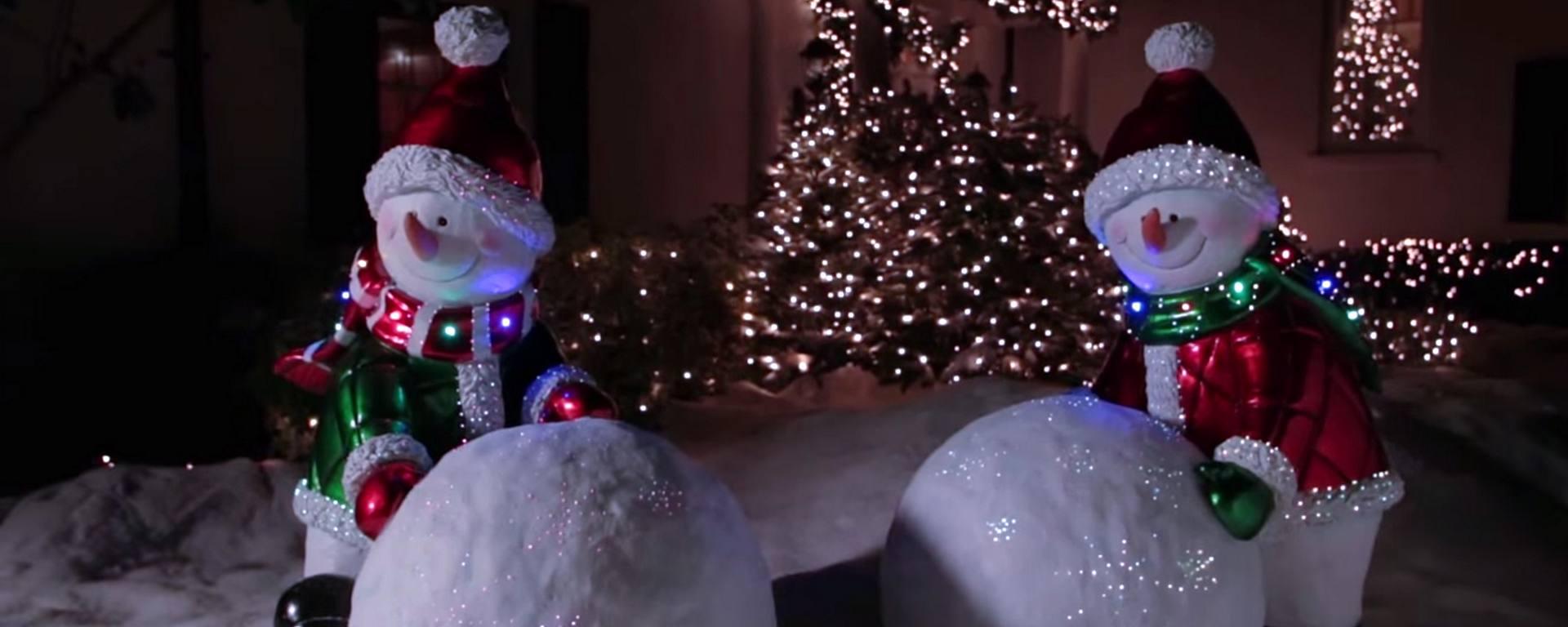 Fiber optic christmas snowman wreath decoration - Fiber Optic Christmas Snowman Wreath Decoration