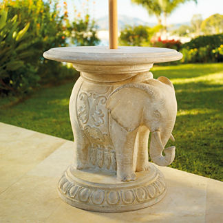 Patio Umbrella Stands - Umbrella Tables - Frontgate