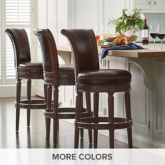 Leather Bar Stools Leather Counter Stools Frontgate