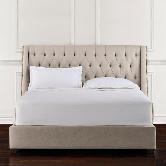 Chatham Tufted Upholstered Bed Frontgate
