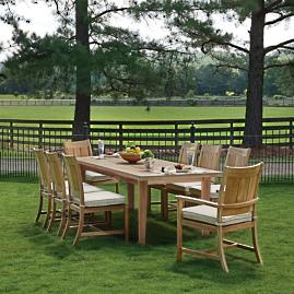 Club Teak Dining Collection By Summer Classics