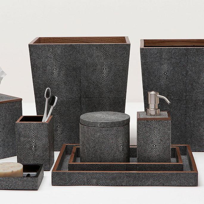 manchester bath accessories by pigeon  u0026 poodle