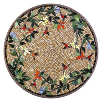 Knf Neille Olson Mosaics Caramel Hummingbird Collection