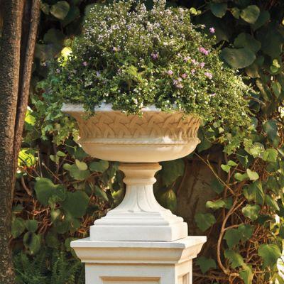 Yorkshire Urn And Garden Pedestal Frontgate