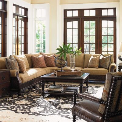 Island Traditions Rust Living Room By Tommy Bahama Frontgate