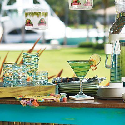 Margaritaville Swirl Drinkware Frontgate