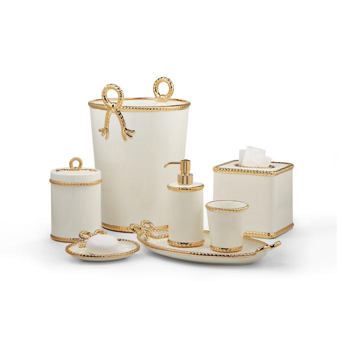 Labrazel Rope Gold Bathroom Accessories Frontgate