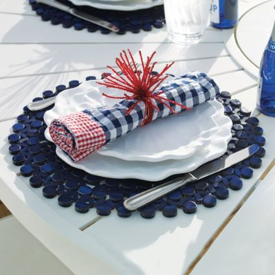 Kim Seybert Gingham And Bamboo Tabletop Collection Frontgate
