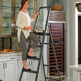 Ultralight Slimline 4 Step Ladder Frontgate