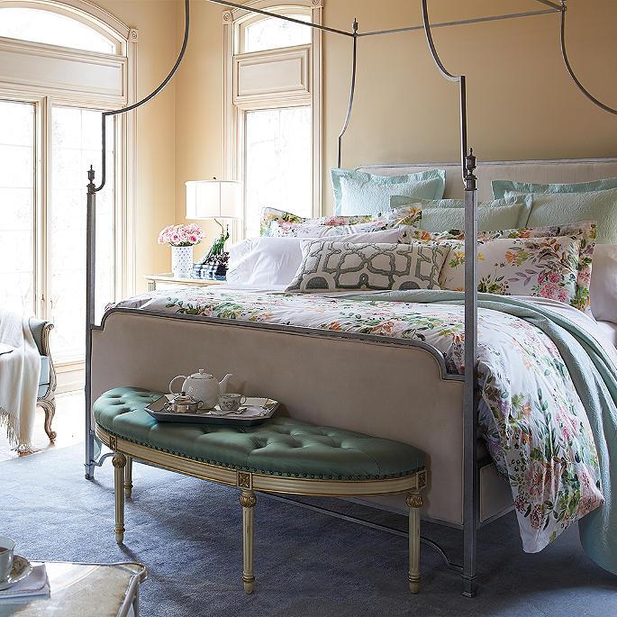 giuliana floral watercolor bedding