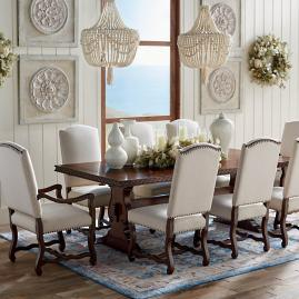 Cordoba Parquetry Dining Table Frontgate