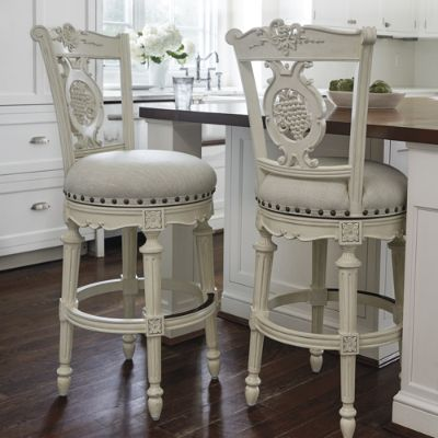 Provencal Grapes Swivel Bar And Counter Stools Frontgate