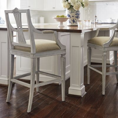 Cheshire Carved Bar And Counter Stools Frontgate