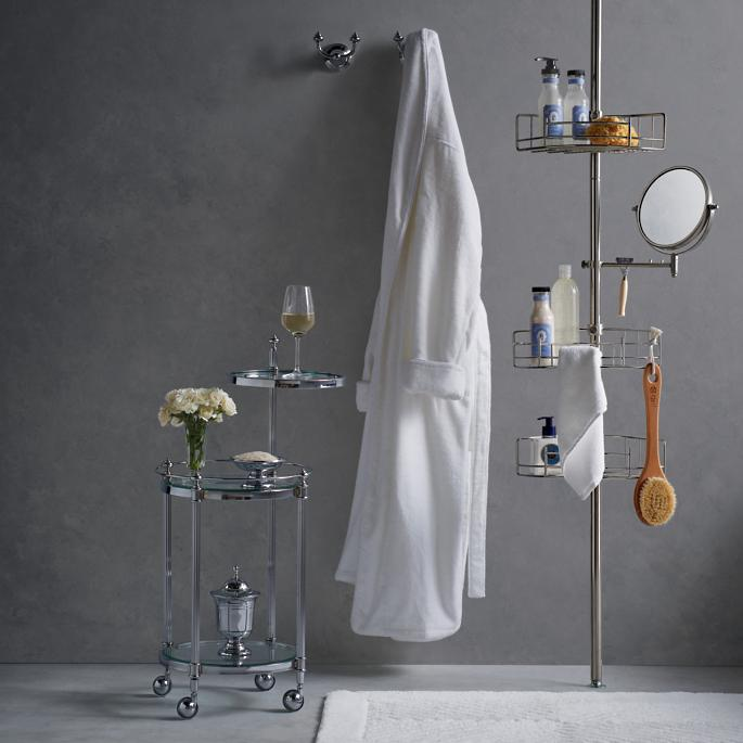 stainless steel shower butler