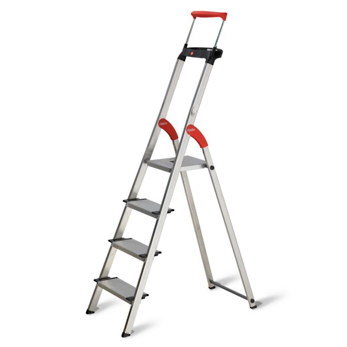Deep Step Aluminum Ladders Frontgate