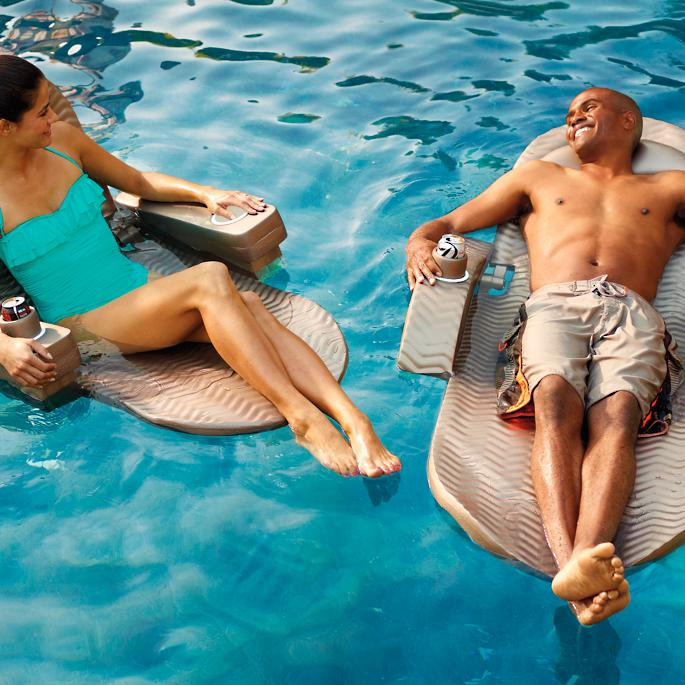 extra-large adjustable pool chaise