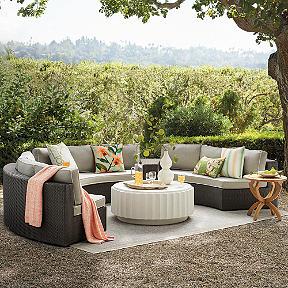 Luxury outdoor furniture outdoor patio furniture frontgate for Pasadena outdoor furniture
