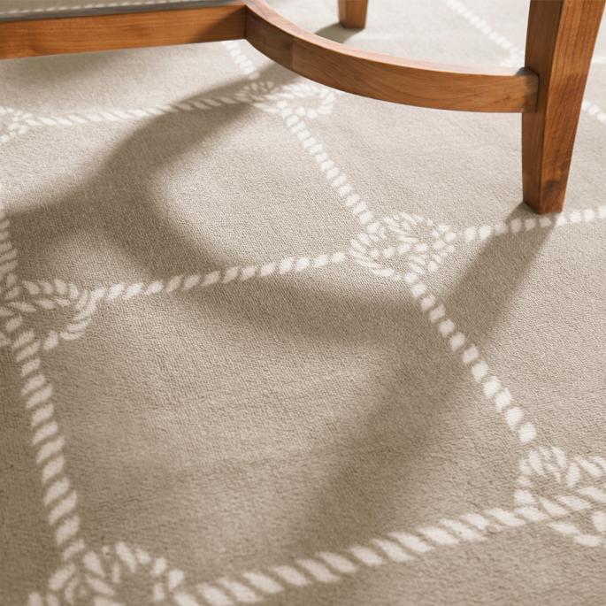 Nautical Knot Outdoor Area Rug