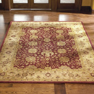 Conrad Antiquities Wool Area Rug Frontgate