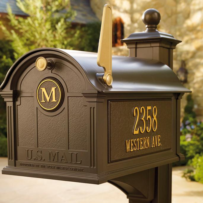 Balmoral Mailbox Frontgate