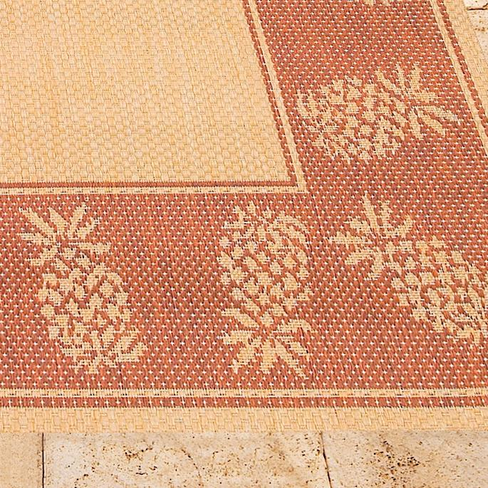 Oasis Retreat Outdoor Rug In Natural Terra Cotta Frontgate