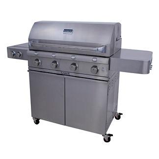 Saber 670 4-burner Gas Grill with Dual Side Burner