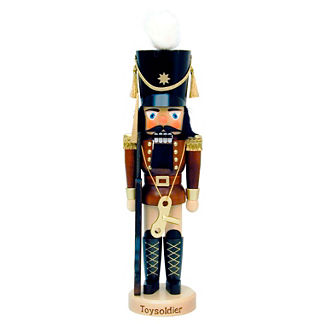 Toy Soldier with Key Nutcracker
