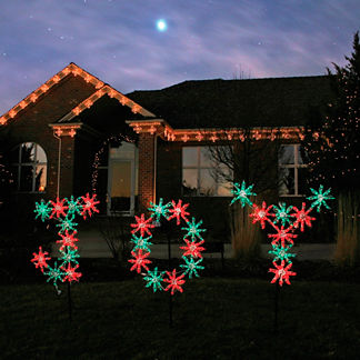 Lighted Snowflake Joy Sign