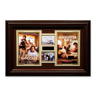 'The Hangover 1 & 2' Signed Photo Collage