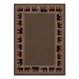 Elephant Indoor/Outdoor Area Rug