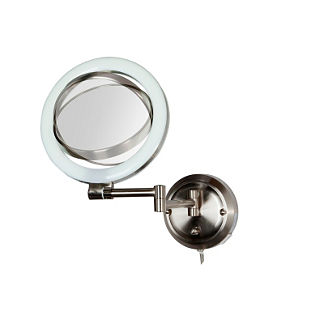 10x Wall Mirror with Dual Arm