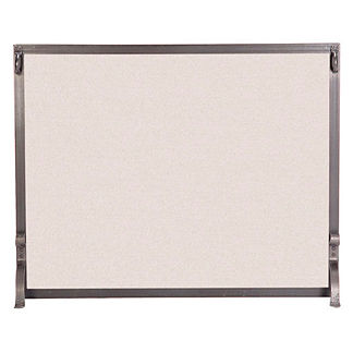 Custom Medium Indoor Forged Iron Fireplace Screen