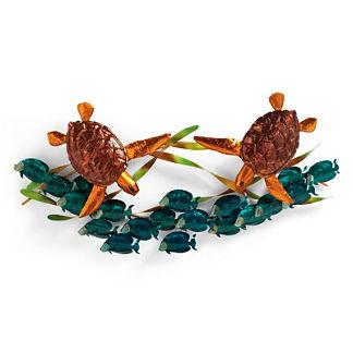 Sea Turtle Frolic Wall Art