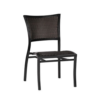 Aire Side Chair with Cushion by Summer Classics