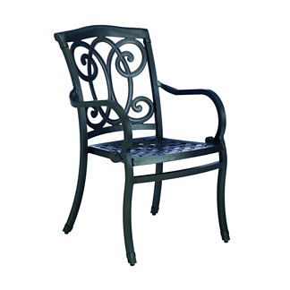 Somerset Dining Arm Chair with Cushion by Summer Classics